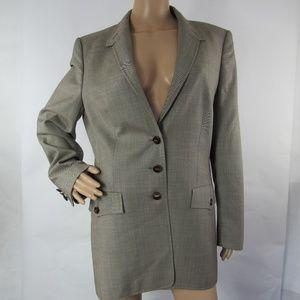 Escada Ermenegildo Zegna Suit Blazer Jacket